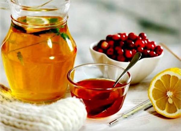 мед, ягоды, цитрус