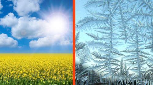 лето солнце и мороз на окне