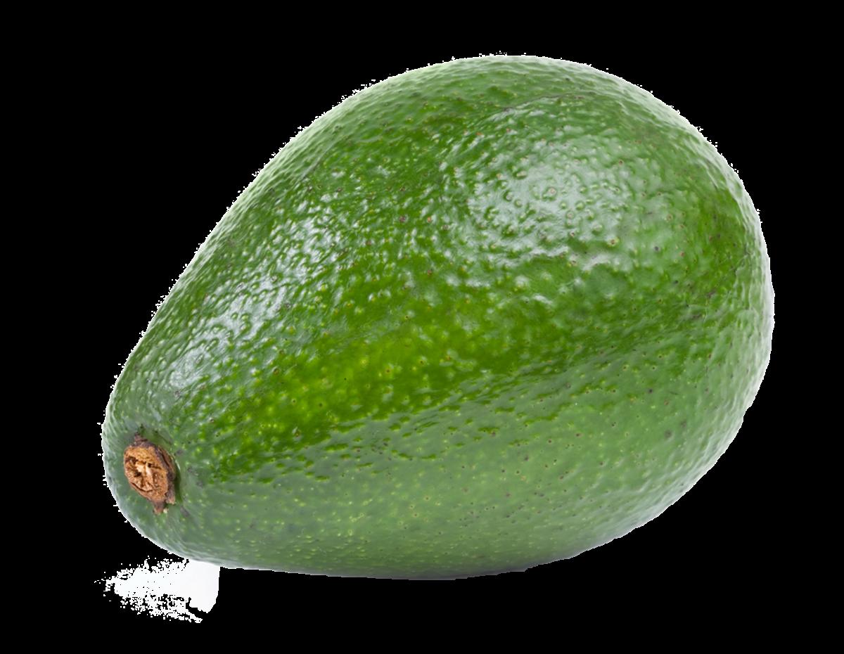 Зелёный авокадо