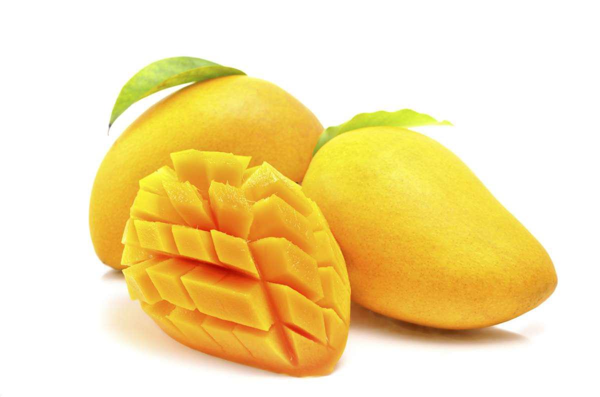 Разрезанный манго