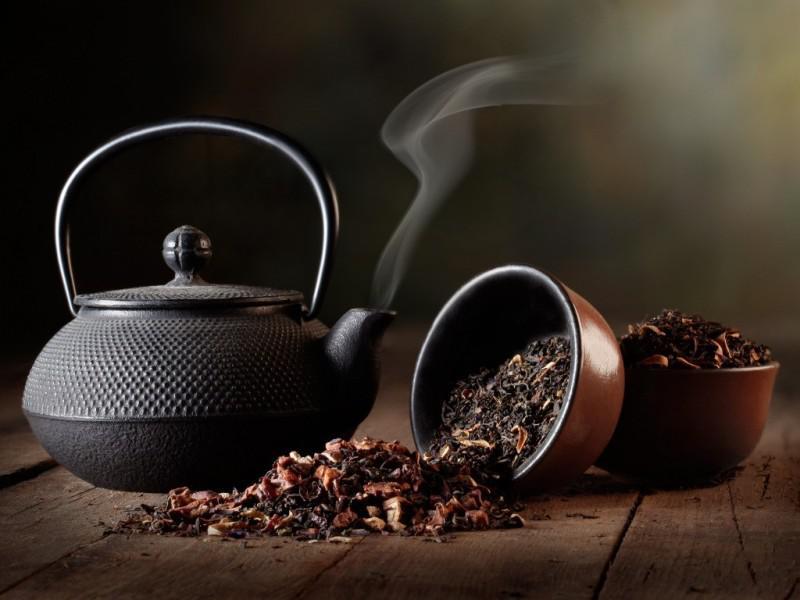 Чайник и чай