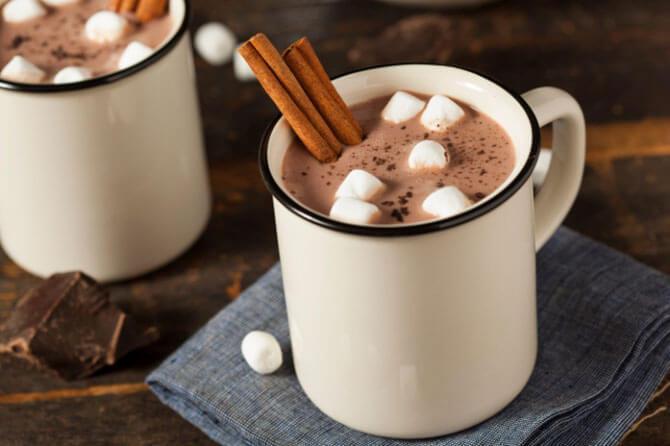 Какао с ванилью