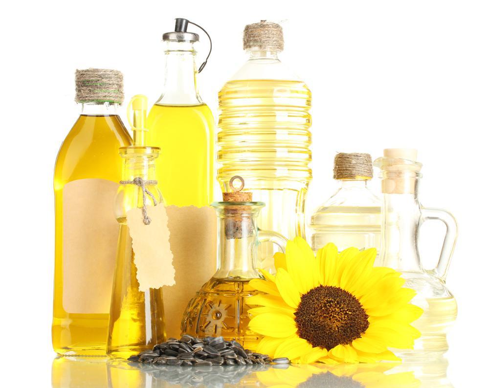 Разные виды подсолнечного масла