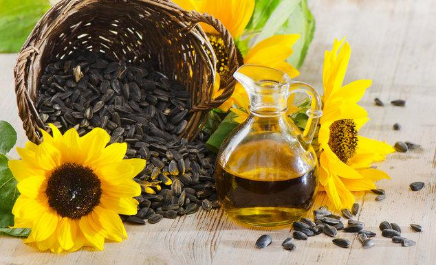 Семечки и подсолнечное масло