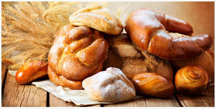 Разные виды хлебобулочных изделий