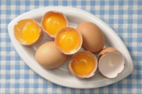 Расколотые яйца