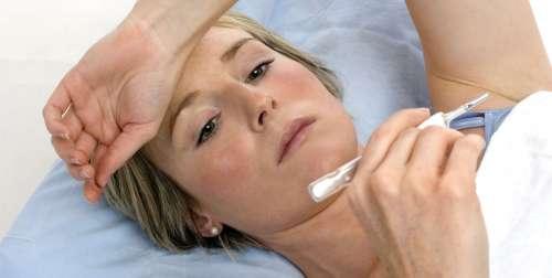 Повышение температуры тела у женщины