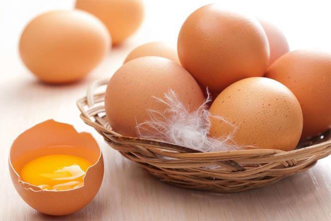 Яйца и пух